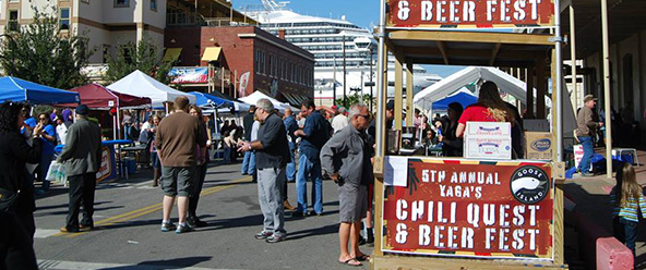 Yaga's Chili Quest & Beer Fest Schedule of Events